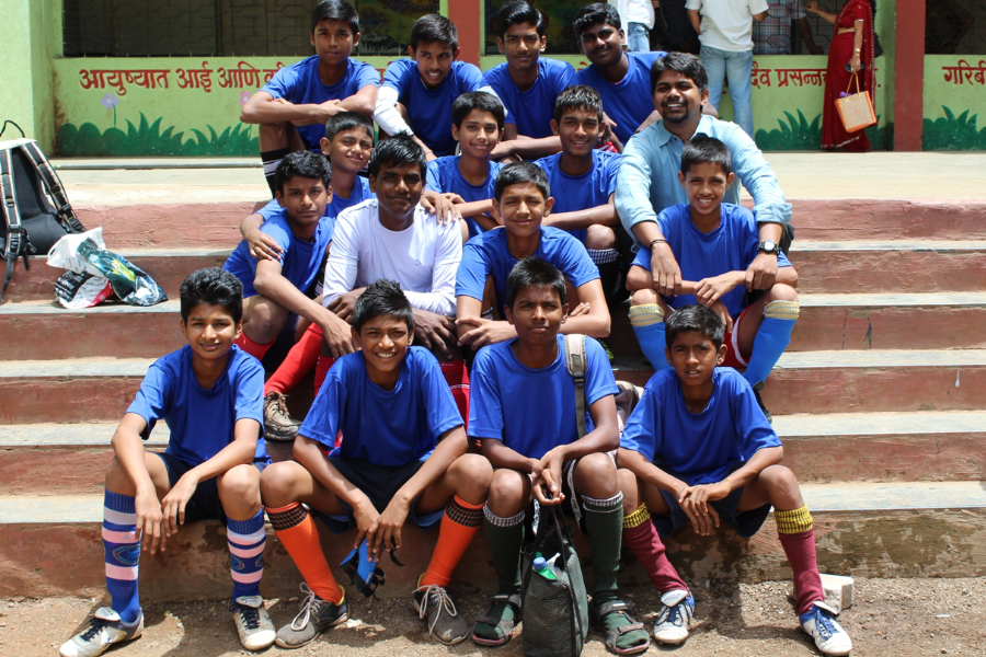 iTeach Saints ranked 2nd in Tata Motors School Football Championship in 2015.