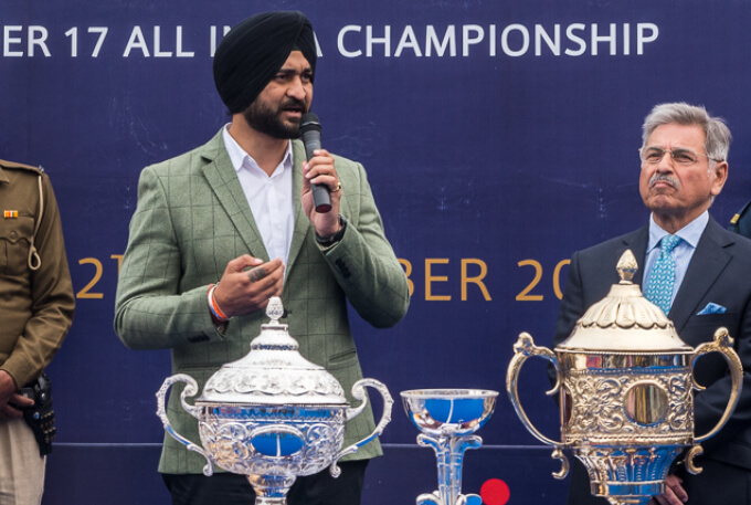 Sandeep Singh: Ex-captain of Indian men's hockey team