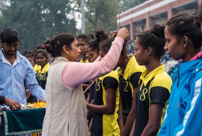 Surinder Kaur: Former member of the Indian women's hockey team